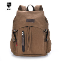 new 2014 Hot sell men and women canvas backpack casual shoulder bag influx of school student backpack multifunctional excursions