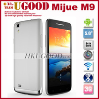 Original Mijue M9 Mobile Phone MTK6592 Octa Core Android Smartphone 2GB RAM 16GB ROM 5.0 Inch HD IPS 8.0MP Camera Cell OTG GPS