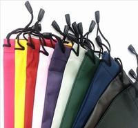 2000pcs waterproof leather plastic sunglasses pouch soft eyeglasses bag glasses case