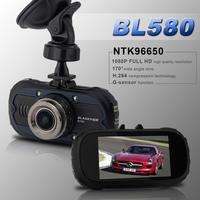"BL580 Novatek 96650 Full HD 1080P Car DVR Camera Recorder IR Night Vision WDR 2.7"" 170 G-sensor Motion Detection 12Mega Pixel"