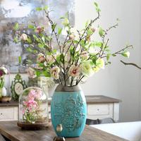 high quality artificial Magnolia flower silk Magnolia  high 95cm wedding decoration home supplies silk flower free shipping