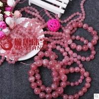 Kaiyun medallion gourmet powder crystal bracelet with crystal Madagascar peach female ornaments hand string of jelly