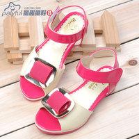 Кожаная обувь для девочек Искусственная кожа