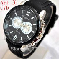 2014 Hot Selling Brand New CYD / ARM Men's Fashion Quartz Wrist Watches Jelly Silicone Strap Wristwatches For Men Boyfriend