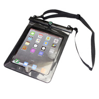 "PVC IPX8 20 M Waterproof  Tablets & e-Books Case For Ipad 2/3/4 10"" device Outdoor Summer Beach Diving Floating Swimming Pouch"