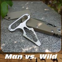 Outdoor camping,hiking,travel kits or wild survival tools man vs wild mini pocket multi tool free shipping