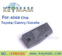 High quality transponder chip for Toyota 4D68 chip (Carbon).LOCKSMITH TOOLS,4D68 carbon chip,Transponder key chip