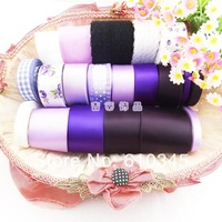 Free shipping High quality  DIY Hair Accessory satin / grosgrain/cotton lace ribbon cartoon ribbons set printed  tapes 22yard