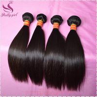 Brazilian virgin hair straight 6A Unprocessed hair extensions Rosa hair products 3pcs lot Natural Black Landot human hair weaves