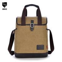 5 colors new 2014 men handbag canvas shoulder bag outdoor women vintage fashion diagonal package Korean version of the influx