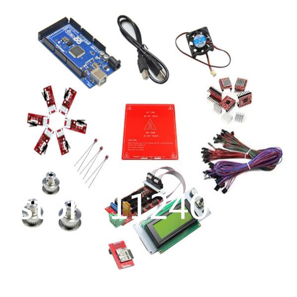 все цены на  Запчасти для принтера OEM 1.4 Mega2560 rev3 5 * A4988 G3D LCD MK2a 3D eletronic Eletronic kit of 3D printer kit  онлайн