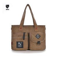 New 1024 explosion models with a men canvas bag handbag and shoulder bag diagonal influx of men's casual bag Korean wholesale