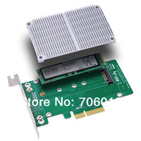 M2P4A  PCIe 2.0 X4 to M.2 (NGFF) SSD Adapter