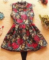 High quality Winter fashion sleeveless tank dress