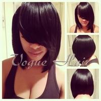 Grade 5A short style bob glueless Lace Front Wig / Full Lace Wigs For Black Women Baby Hair Cheap Brazilian Virgin human Hair