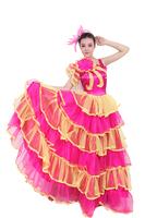 Clothing expansion skirt square dance clothes set dance performance wear clothes 2014 one-piece dress