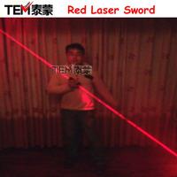 Red laser sword laser 638nm 200mw hand-held double slider laser sword