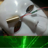 Clothes gloves mask laser head 50mw
