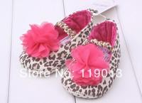 2014 beautiful toddler girls flower shoes
