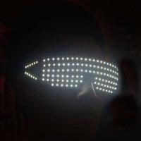 Led glasses led glasses night vision goggles luminous sunglasses ds dj glasses