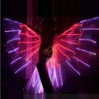 Luminous ruslana korshunova wings women's led cloak cosplay costumes