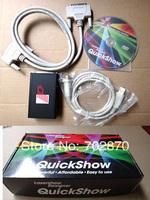 Pangolin Quickshow laser software /ilda laser software/USB software for stage laser/ for disco laser light