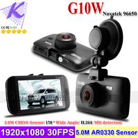 2014 New Car Black Box Novatek 96650 Chipset 1920x1080P 30fps H.264 WDR + IR Night Vision + MD detect + G-sensor 170 Wide angle