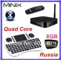 [Russian Rii mini i8 Air Mouse] MINIX NEO X7 mini Android TV Box Quad Core Mini PC 2G/8G WiFi HDMI USB RJ45 OTG XBMC Smart TV