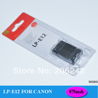 Replacement Battery LP-E12 LPE12 LP E12 for Canon digital camera