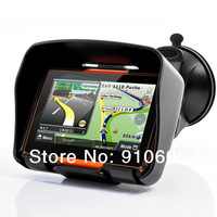 4.3 inch TFT Touch Screen waterproof IPX7 bluetooth GPS navigator for motorcycle+Windows CE 6.0+ map of most countries