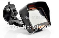 Happy feedback /4.3 inch waterproof motorcycle gps with 4GB Nandflash + bluetooth + motorcycle holder