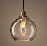 Vintage Loft Industrial American Lustre Glass Edison Pendant Lamp Plate Kitchen Dinning Living Room Modern Home Decor Lighting