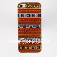 Min Order is US$ 15 (Mix Order) Special Design Stripe Pattern Plastic Mobile Case Fits 5/5S  Free Shipping