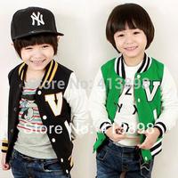 2014 spring boys clothing baby child long-sleeve cardigan fashion child coats causal jacket free  shipping