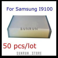 50pcs 250um OCA Optical Clear Adhesive For SAMSUNG I9100 Double Side Sticker for LCD/ Digitizer Glass Repair