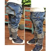 Childrens Fashion Jeans Harem Pant Toddler Boys Kid Collapse Casual Trousers [TZ206-TZ210]