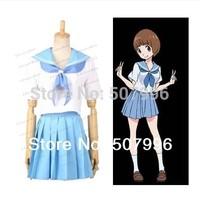 Kill la Kill Mako Mankanshoku Cosplay Costume summer women girl short dress D-1317