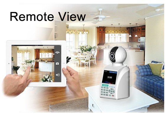 Home security camera system with wireless gsm alarm for office and home(China (Mainland))