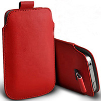 1pcs bulk novelty 13 coloer Leather PU Pouch Case Bag for zopo zp300/ ZOPO ZP300+ Cover  with Pull Out Function HK