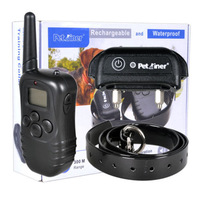 4In1 Waterproof Rechargeable Pet Remote Controlled 300m Training Collars 1 Dog 4PCS/lot