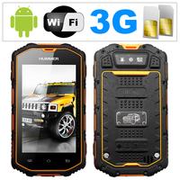 Original Hummer H5:IP67 Waterproof Phone MTK6572 Dual Core 3G Smartphone GPS  Bluetooth Dustproof Shockproof  Russian Portuguese