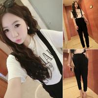 2014 free shipping 173 c31 2014 modeling fashion suit pants bib pants