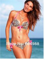 Women Sexy leopard bikinis Swimsuit bathing suits beachwear Ladies' Swimwear beach swim wear