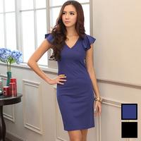 New 2014 Spring And Summer Plus Size 5XL Short-sleeve Brief Elegant Slim One-piece Dress Women's Maxi Dresses XXL XXXL XXXXL