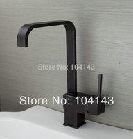 Popular Deck Mounted Faucet Oil Rubbed Bronze Brass Kitchen Vessel Tap Mixer Faucet 8520-1