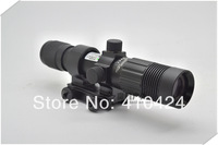 The latest aiming device infrared green laser sight light flash light Adjustable focal zoom