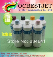 Free Shipping 2014 Most Popular 500ml*4bottle Textile Ink for Epson Color 3000