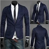 Spring 2014 men's blazers casual suit blazer man jacket Career Office Business men blazer Plus Size Mens suits for men clothing