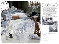 Snow white girls bamboo fiber bedding sets queen size 3d bedclothes for kids flower bedclothes cotton duvet/mattress cover set
