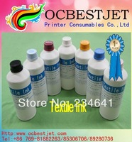 Free Shipping High-End 500ml*5bottle Textile Ink for Epson T3000 T5000 T7000